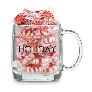 Nordic Glass Mug 13 Oz. Filled w/Candy