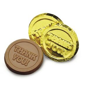 Thank You Milk Chocolate Coin