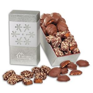 Toffee & Turtles in Snowflake Gift Box